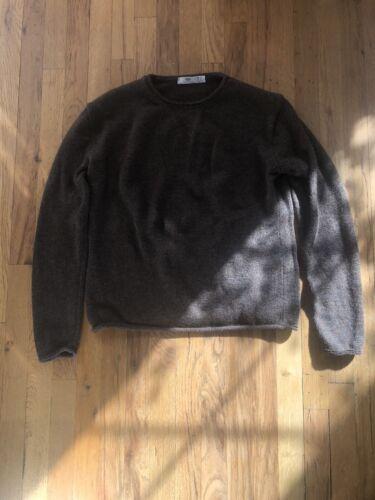 Inis Meain Sweater - Baby Alpaca/Silk Blend - Larg