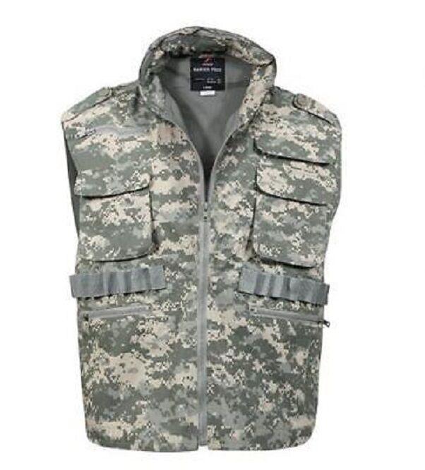 US Ranger Acu UCP Ejército caza al aire libre con bolsillos en digital XL XLarge