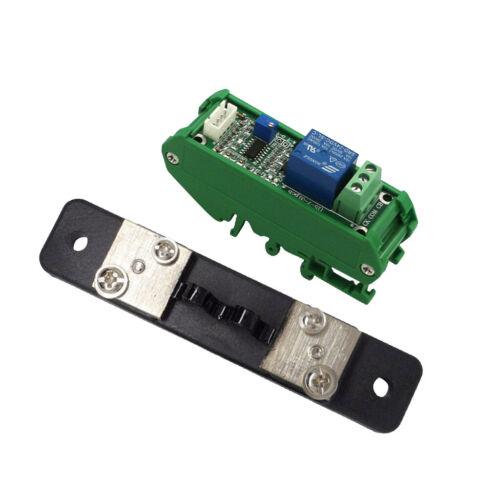 Relaisausgang mit 20A Stromdetektionssensormodul und Sockel