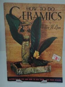 Vintage-Craft-HOW-TO-DO-CERAMICS-By-HELLEN-H-LION-Walter-Foster-MCM185