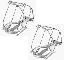 (2) ea Nash Products CL-1 Easy Set Mechanical Choker Mole Traps