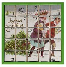 Tea Advent Calendar 2020 English Tea Shop Organic Blue Advent Calendar Bags 25 count for