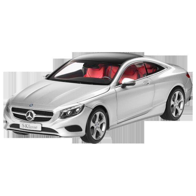 Mercedes Benz C 217 S CLASS COUPE Iridium Silver 1:18 NIP