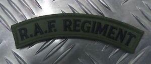 Genuine-British-Army-RAF-039-ROYAL-AIR-FORCE-039-REGIMENT-Green-Shoulder-Patch-NEW