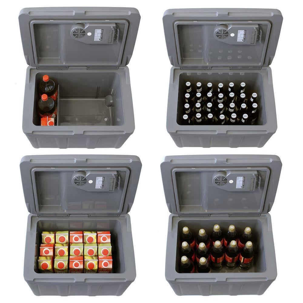 40L Kühlbox 12V 230V Mini-Kühlschrank Mini-Kühlschrank Mini-Kühlschrank + Rollen Thermoelektrische Elektrokühlbox 975629
