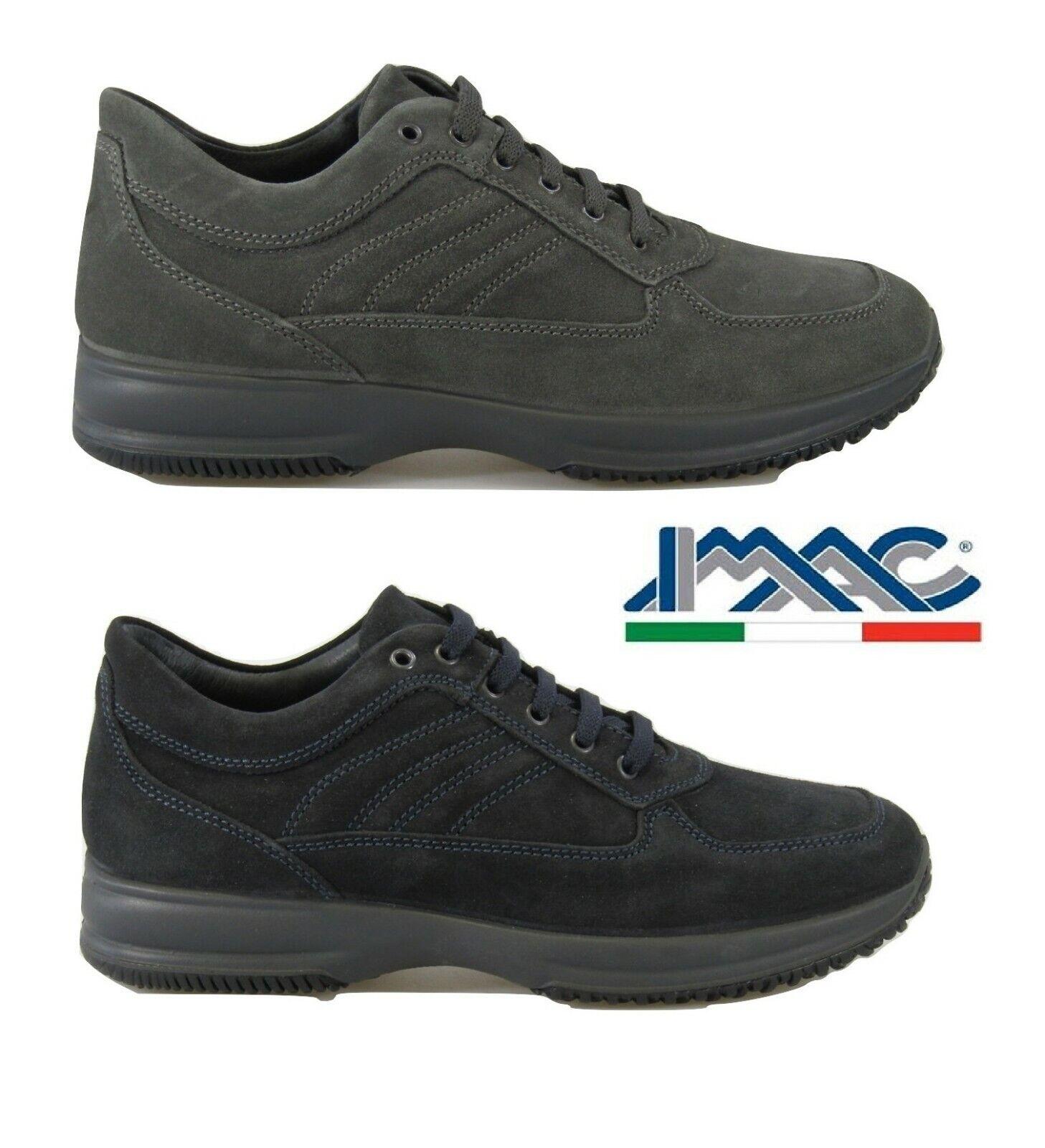 Schuhe Men IMAC Winter Casual aus Wildleder Klassische mit Schnürung Sohle Hoch