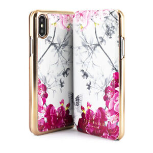 165b4d54d Ted Baker® Luxuries Floral Mirror Folio Case for iPhone X   XS ...