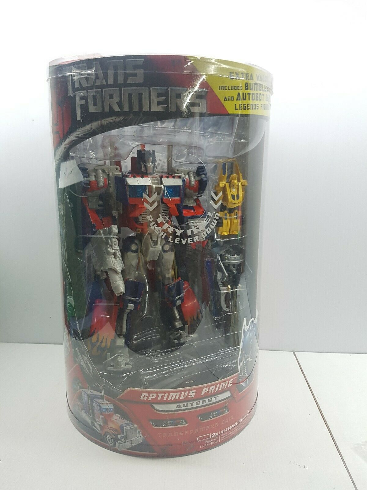 Transformers Leader class Optimus Prime Legends figure bumblebee jazz 2007 NIB