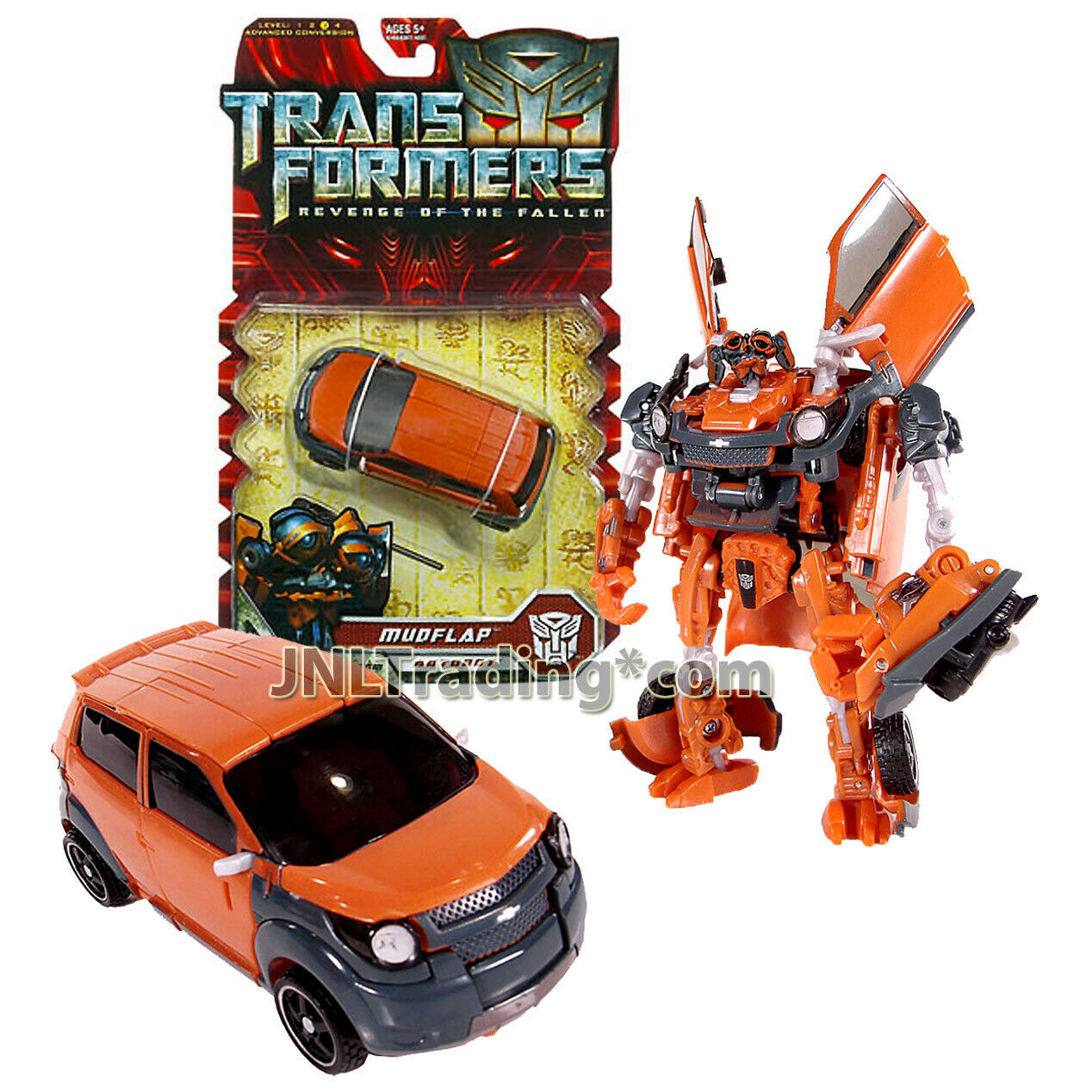 Year 2008 Transformers Revenge of the Ftuttien Deluxe classe cifra Autobot MUDFLAP