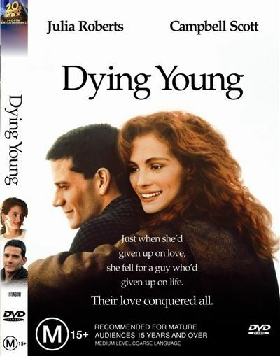 Dying Young (DVD, 2006) Region 4 Drama DVD Rated M Used in Like NEW Condition