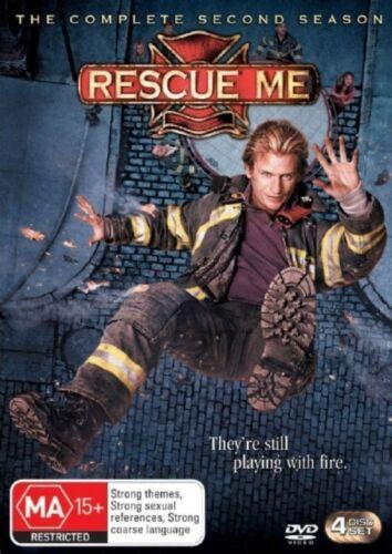 1 of 1 - Rescue Me : Season 2 (DVD, 2006, 4-Disc Set) *New & Sealed* Region 4