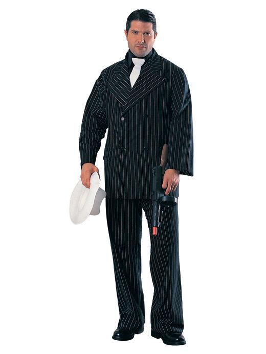 Gangster Schwarzer Anzug Gangster & Mölls Pappfigur | Attraktives Aussehen  | Verbraucher zuerst
