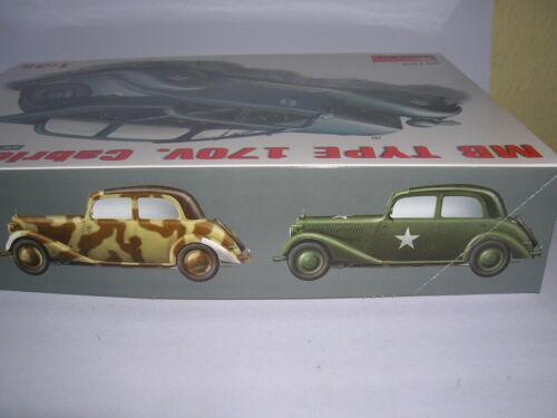Cabrio Saloon Bausatz 1:35 Kit Art MiniArt MB Typ 170V 35103 Cabriolet