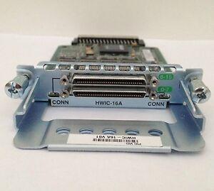 CCNA CCNP CCIE 4-Port Serial High-Speed WAN Interface Card Cisco HWIC-4T