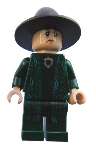 LEGO Le Professeur Minerva McGonagall minifigur personnage harry potter hp152 NEUF