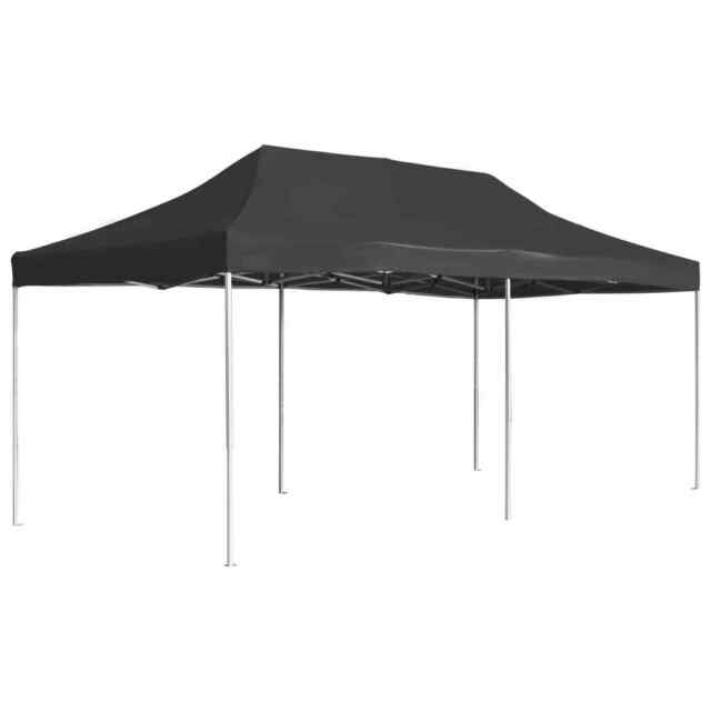 Folding Party Tent Gazebo with//without Walls Aluminium Frame 3//4.5//6x3m Canopy
