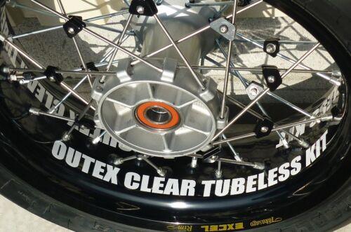 Morad Rim Tubeless Kit Spoke Wheel 17,18,19×2.50WM 17,18×4.25MT OUTEX