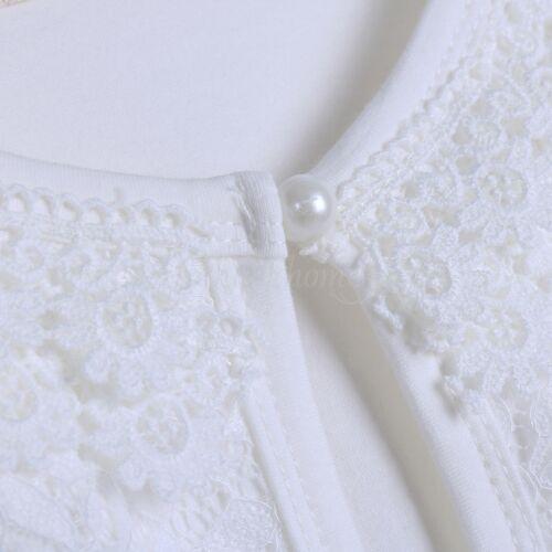 Kids Girl Beaded Bolero Jacket Shrug Short Cardigan Bridesmaid Dress Cover Up