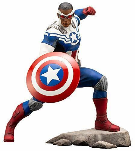 ARTFX+ Marvel Universe  CAPTAIN AMERICA (SAM WILSON) 1 10 PVC cifra Kotobukiya  migliore offerta