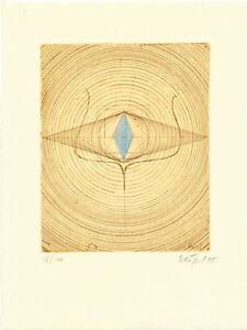 Untitled-1975-Handkolor-Radierung-Bertram-WEIGEL-1950-1976-D-handsigniert