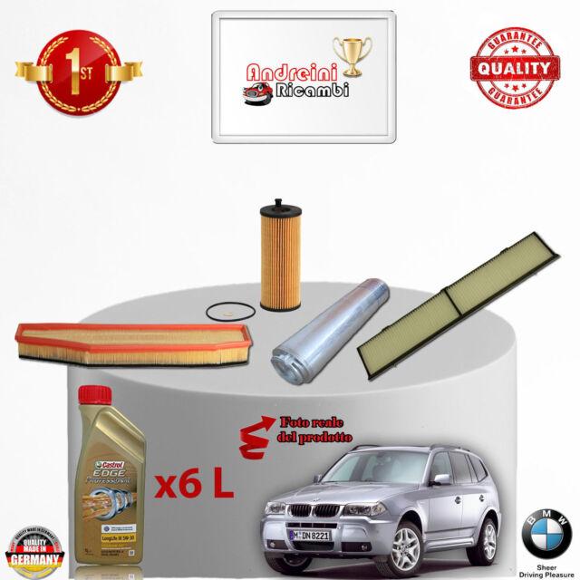KIT 4 PASTIGLIE FRENO ANTERIORE BMW X5 3.0 d 160KW DAL 2003 />  327