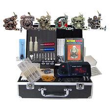 High Quality Tattoo Power Supply 6 Machine kits tatoo Equipment all Sets