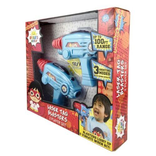 Ryan/'s World Laser Tag Blasters Boys Action Toy Gun Playset NEW Xmas Gift Kids