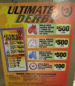 Ultimate Derby Pull Tabs