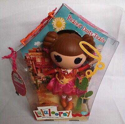 Flight Tracker Lalaloopsy Prairie Dusty Trails Grande Rara Raccogliere Doll Toy Box Nella Scatola Originale-mostra Il Titolo Originale