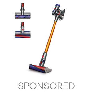 Dyson V8 Absolute Cordless Vacuum   Yellow   New