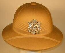 USAF US Air Force Officer Pith Helmet Hat Cap 7 1/8  57 Rare & Obsolete
