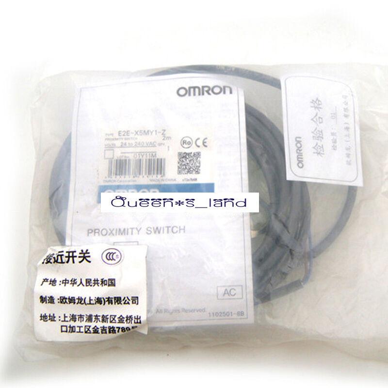 E2E-X10Y1-M1 Omron NEW In Box Proximity Switch Sensor E2EX10Y1M1