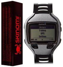Skinomi Brushed Aluminum Watch Skin+Screen Protector for Garmin Forerunner 910XT