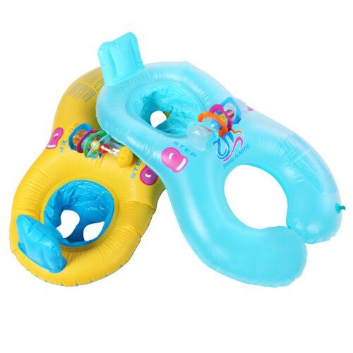 Gonflable MOTHER /& BABY swim flotteur Radeau Enfants Chaise Siège Swim Ring Aid Trainer