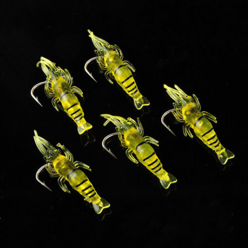 Lots 5 PCS Fishing Lures Kinds Of Minnow Fish Bass Tackle Hooks Baits Crankbaits