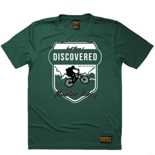 Cycling Discoverd Mountain Biking Breathable top T SHIRT DRY FIT T-SHIRT