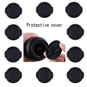 10pcs-55mm-Snap-On-Front-Lens-Cap-Cover-fuer-alle-Canon-Nikon-Sony-Kamera