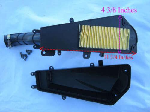 Scooter Air Box For Gy6 Long Case Engine 49cc 50cc Ice Roketa Sunl TaoTao Peace