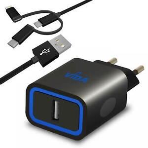 Super-Rapide-12W-Chargeur-Secteur-Mural-Adaptateur-avec-USB-Cable-Pour-Telephone