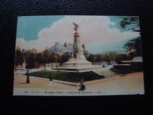 Francia-Tarjeta-Postal-1916-Monumento-Carnot-cy99-Francesa