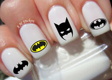 Batman Nail Art Stickers Transfers Decals Set of 52