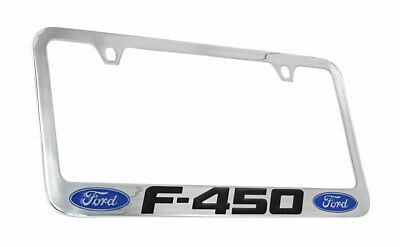 Ford Escape 1 logo Chrome Plated Brass Metal License Plate Frame Holder