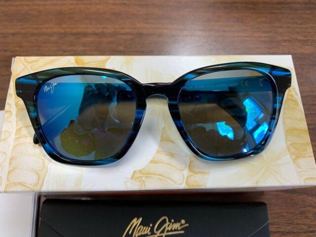 52-20 145 G42 Details about  /New Maui Jim Shave Ice Electric Blue Sunglasses Frames MJ 533-86