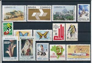 D066435-Brazil-Nice-selection-of-MNH-stamps