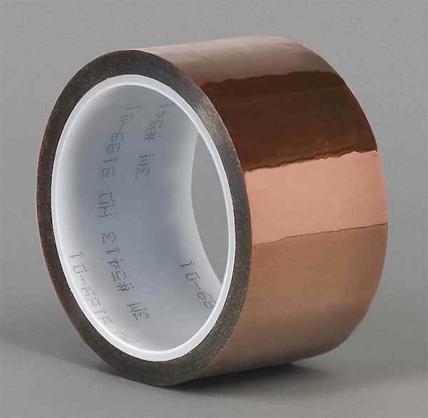 Film Tape,Polyimide,Amber,2 In. x 36 Yd. 3M 5413