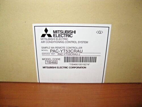 PAC-YT53CRAU BNIB MITSUBISHI ELECTRIC AIR CONDITIONING CONTROLLER MODEL