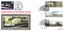 2004 Trains - Benham Channel Tunnel Official (Pr) - Railway Stamp 3