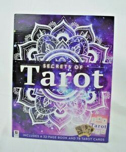 Hinkler - Secrets of Tarot - 32 Page Book and 78 Tarot Cards - New & Sealed