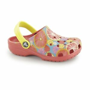 ddb3d16027a7 Image is loading Crocs-CLASSIC-KIDS-FRUIT-Unisex-Boys-Girls-Lightweight-