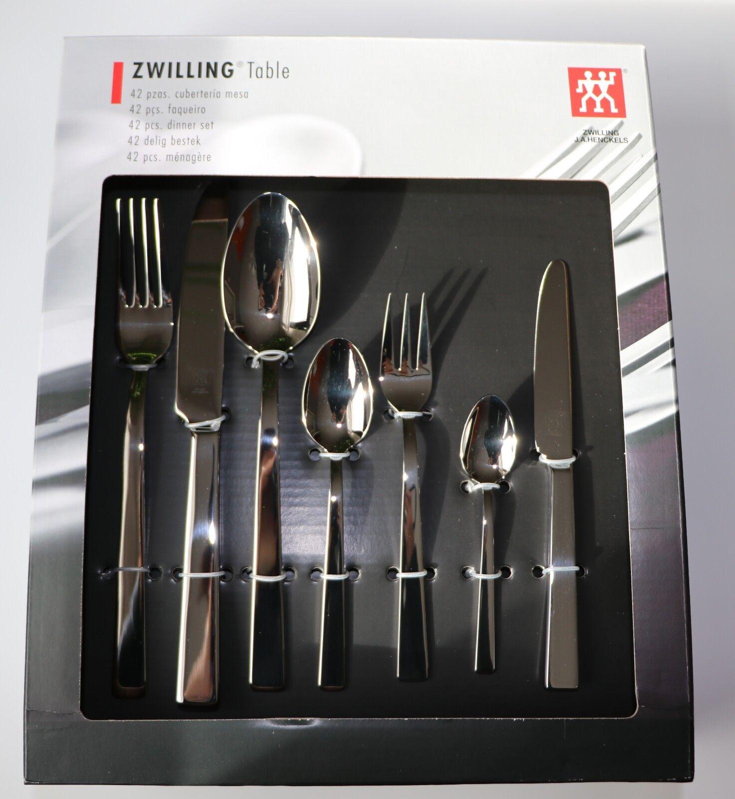Jumeau Set de Couverts   Table   42-teilig Neuf, Emballage D'Origine
